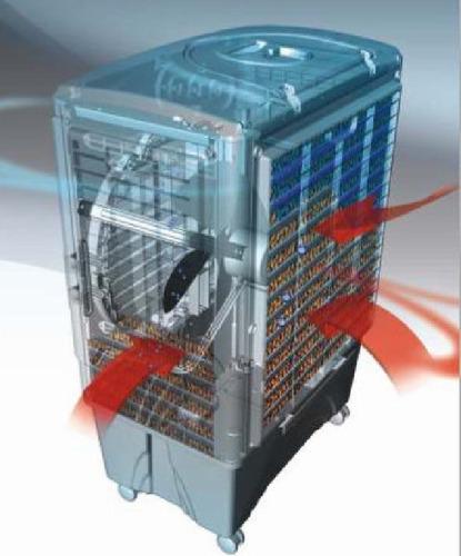 aire frio enfriador potente motor sin instalacion 56 m2