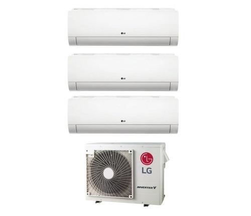 aire lg multisplit inverter 3 unidades x 3000 fgs frio calor