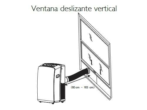 aire portátil f/c 3000fg + ventilador 18  bgh de regalo!