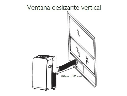 aire portátil f/c 3000fg +ventilador piso 20  bgh de regalo!