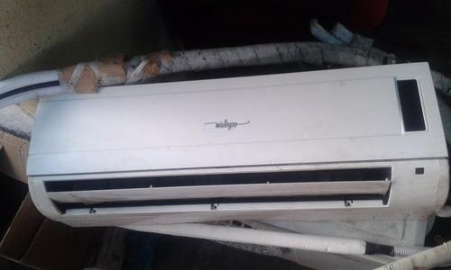 aire split de 12000 btu con protector de hierro y de voltaje