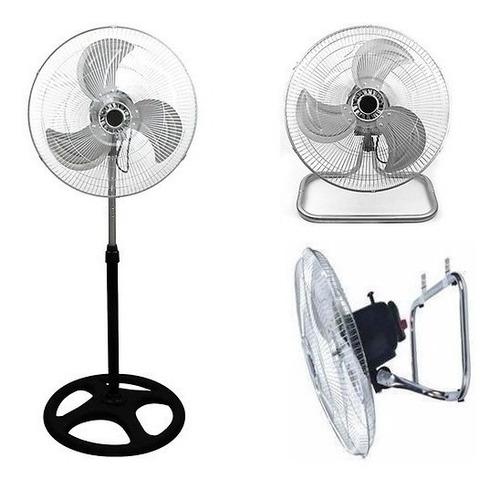 aire ventilador 3 en 1 aspas metalicas 18 pulgadas potente