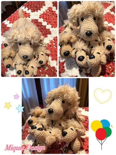 airedale terrier amigurumi tejido a crochet