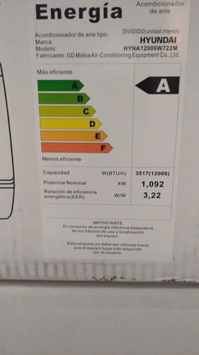 aires acondicionado 12 btu nuevo con garantía split