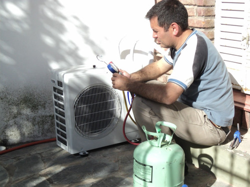 aires acondicionado, inst-rep, gasista,electri y albañilería