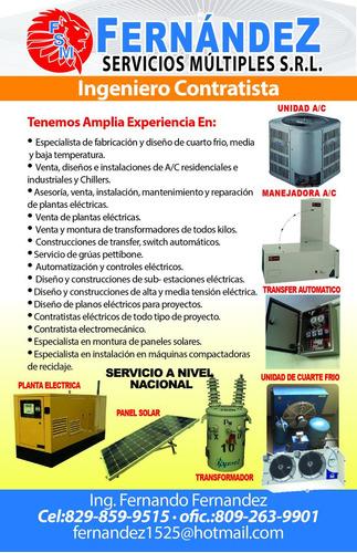 aires acondicionado, instalacion, reparacion y mantenimiento