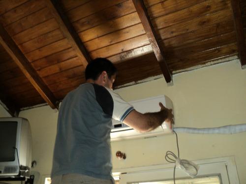 aires acondicionado, split, centrales mateniento reparacion