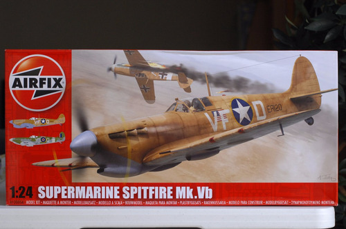 airfix 1/24 supermarine spitfire mk.vb