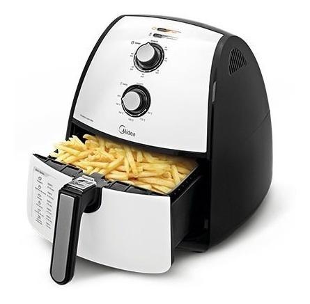 airfryer midea batata frita sem óleo cozinha prática 4l 220