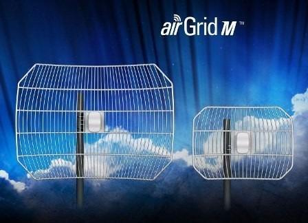 airgrid m5 27dbi 17x24 ubiquiti, antena internet, aghp5g27v2
