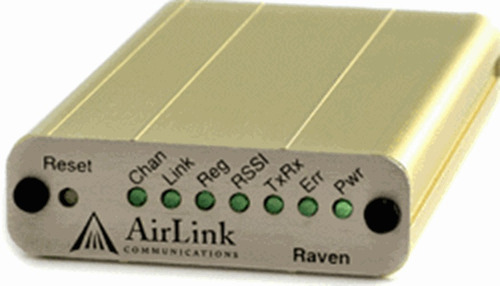 airlink raven borde e3214 gprs gsm sms inalámbrica celular c