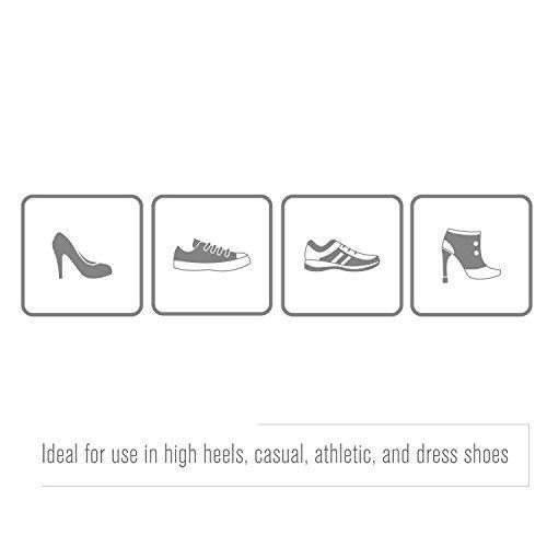 airplus gel orthotic - plantillas de calzado de 3/4 de