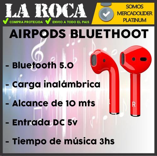 airpod bluetooth auricular inear carga inalambrica cuotas