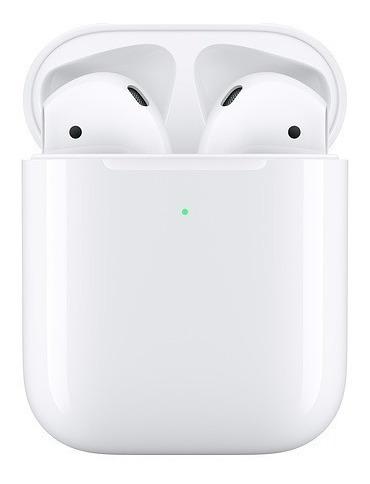 airpods 2 2019 apple com estojo de recarga sem fio mrxj2