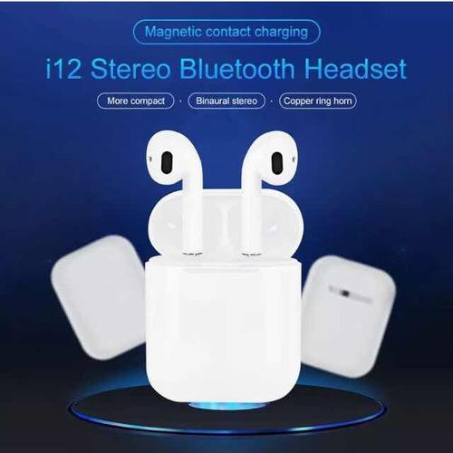 airpods audífonos i12-i13 tws bluetooth 5.0 apple/android