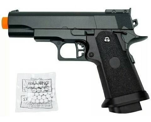 airsoft g10 spring full metal - galaxy