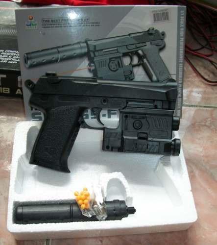 airsoft gun model sp385 bbs 6mm utileria disfraz cosplay arm