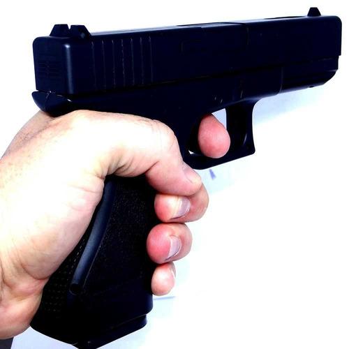 airsoft pistola vg gk-v20 metal mola 6mm+ esferas bbs+ case