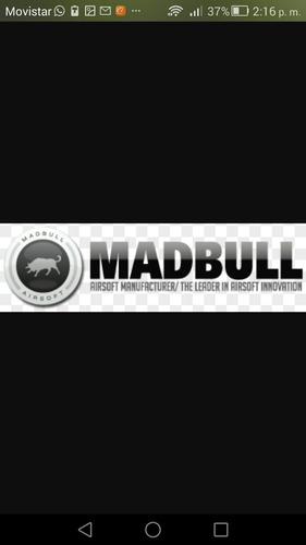 airsoft precision barrel madbull 6.03 mm disponibles