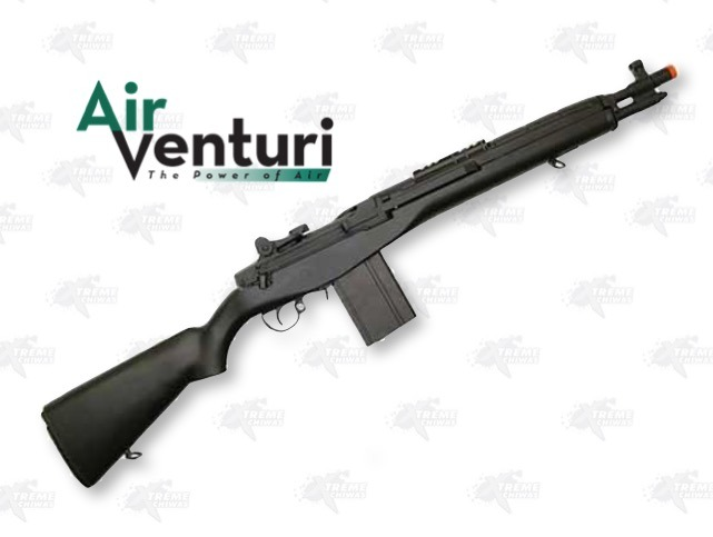 Airsoft Rifle Echo 1 Air Venturi M14 Negro Full Metal Xtr P