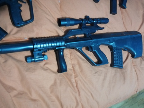 airsoft steyr aug modelo tactico escala 1/1