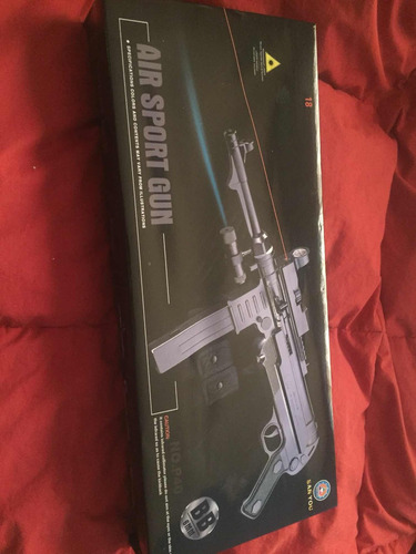 airsoft subfusil mp40 modelo 986875642
