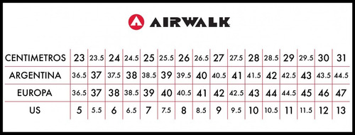 airwalk zapatilla mode lyte