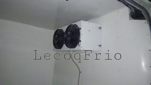 aislación térmica y equipo de frío.