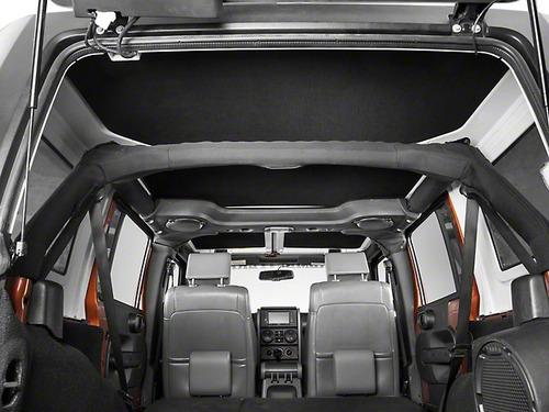 aislador calor y ruido jeep wrangler jk 4 puertas 07-18