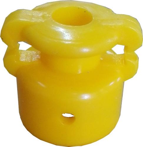 aislador campanita con traba x 50 unid, p/ boyero eléctrico