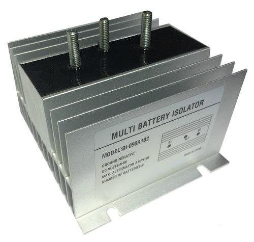 aislador/separador de baterias 200a/ 9-50vdc (2 baterias)