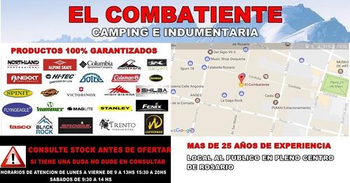 aislante aural aluminizado camping 10mm el combatiente