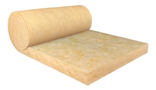 aislante lana de vidrio 50mm calidad isover techo y pared