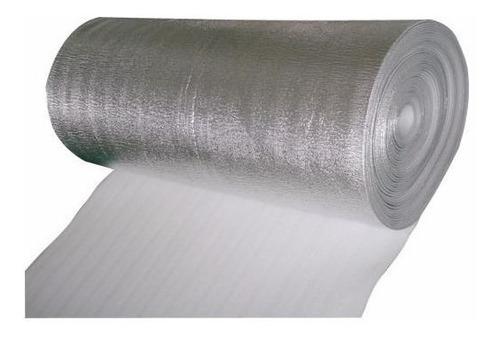 aislante termico acustico aluminizado 12mm ancho 140cm envío