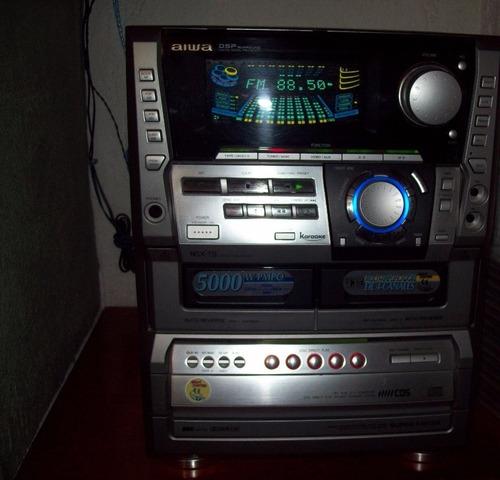 aiwa hi-fi nsx-t9 5000w 450rms 1997 (kenwood, technics sony)