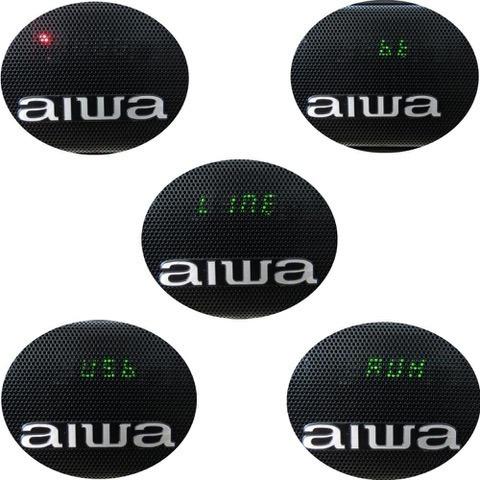 aiwa parlante soundbar con subwoofer bluetooth 100w usb/ aux