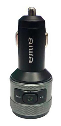 aiwa transmisor audio bluetooth mp3 fm cargador