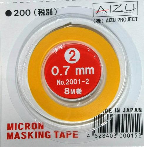 aizu micron japon cinta de enmascarar 0.7mm