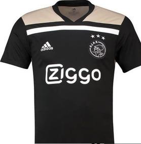 24c6a7e802 Ajax Preta Times - Camisas de Futebol no Mercado Livre Brasil
