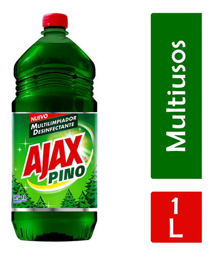 ajax limpiador líquido pino, 1 l