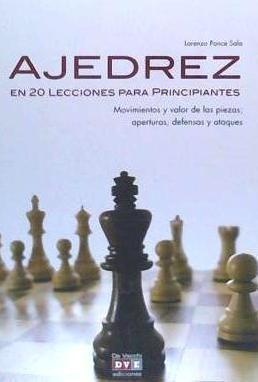 ajedrez. 20 lecciones para principiantes(libro )