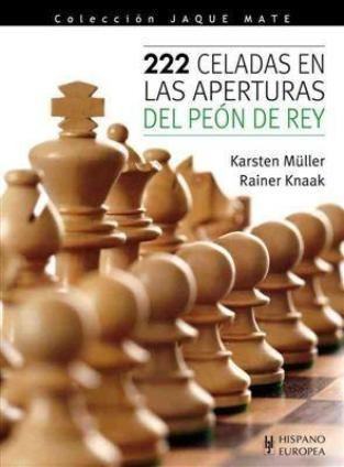 ajedrez, 222 celedas en las aperturas del péon de rey.