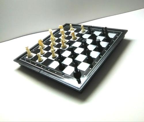 ajedrez 32 piezas imantadas - juego de mesa