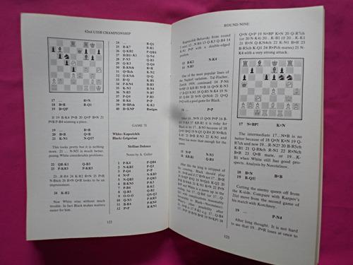 ajedrez 42nd ussr chess championship leningrad 1974