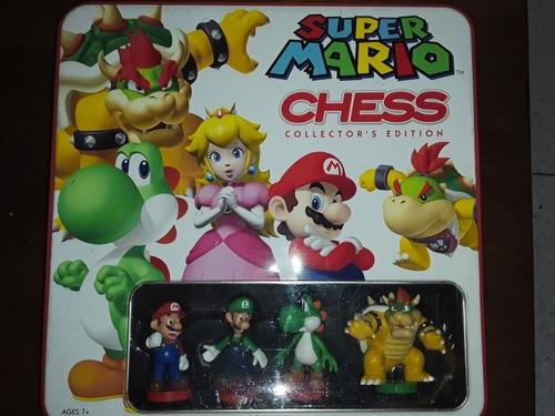 ajedrez de mario bros. original. artículo de colección