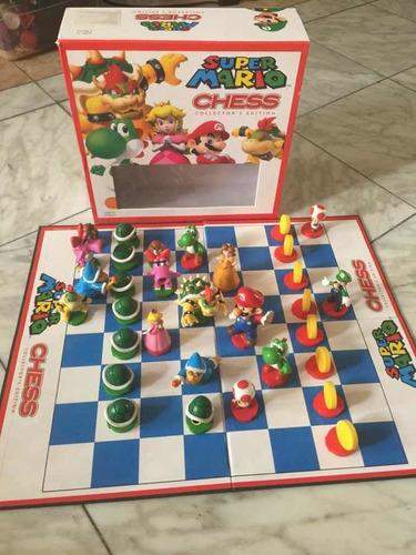 ajedrez de mario bross
