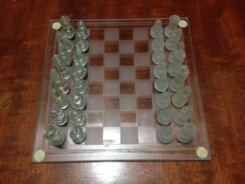 ajedrez de vidrio