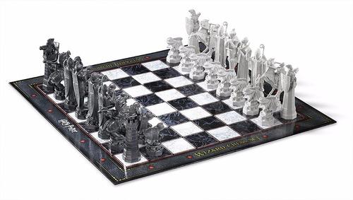 ajedrez harry potter wizard chess set + envió gratis