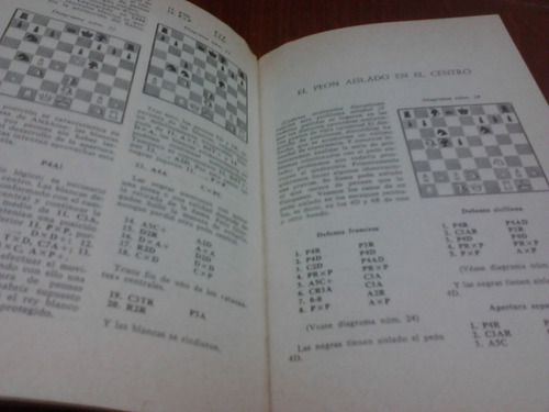ajedrez, la estructura de peones centrales de boris persits.