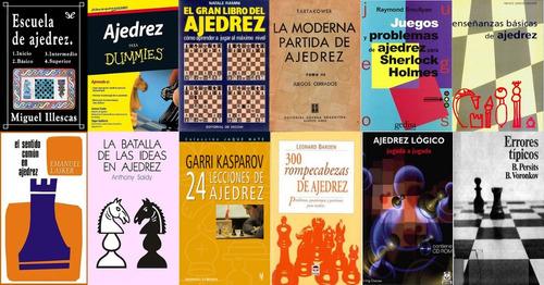 ajedrez libros. colección.